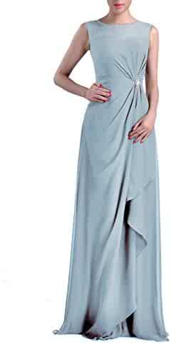 06d12375304b Formal Bridesmaid Dress Chiffon Special Occasion Long Mother of the Bride  Groom Dress