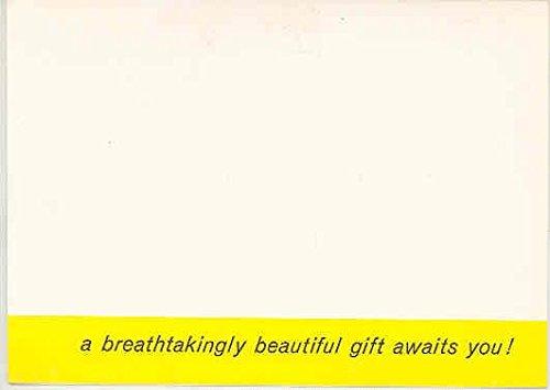 1958 Rambler Demo Drive Mailer Brochure Free Mural - Drive Mural