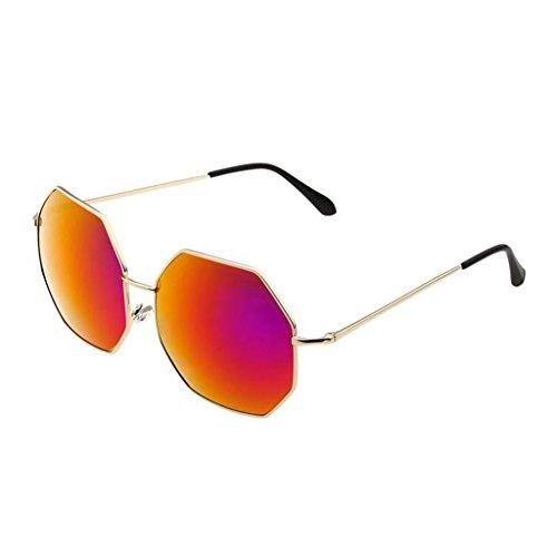 Cara Sol polarizadas la Las Red Sol señoras de de Gafas Color TP Gafas Gafas de Red de Redonda AH6qPxPwE