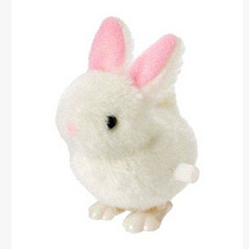Changeshopping New Infant Child toys Hopping Wind Up Easter Chick and Bunny