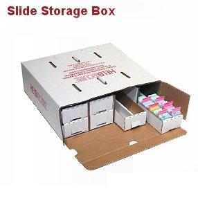 - Microscope Slide Storage Box, Unassembled, Case/10