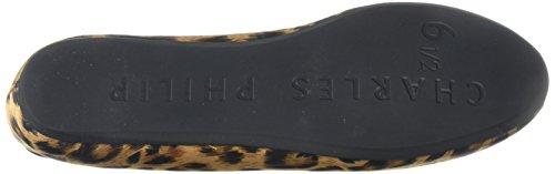 Charles Philip Shisha Sheila Rokende Pantoffel, Satijnen Luipaard, 6.5 M Us