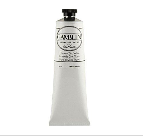 Gamblin Artist Oil Color - Titanium-Zinc White - 150 ml Tube ()