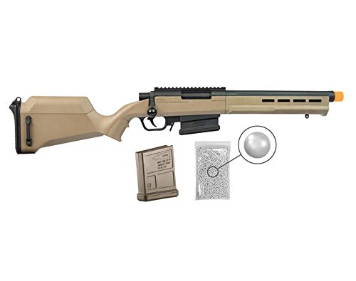 Umarex Amoeba Airsoft Rifle Gun Striker As-02 6mm BB (Gen2) with Wearable4U Bundle