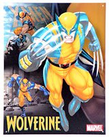 (Wolverine (Marvel) Tin Sign)