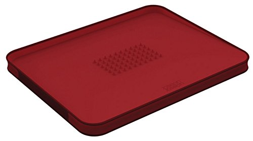 Joseph Joseph 60004 Cut & Carve Multi-Function Cutting Board, Large, Red by Joseph Joseph