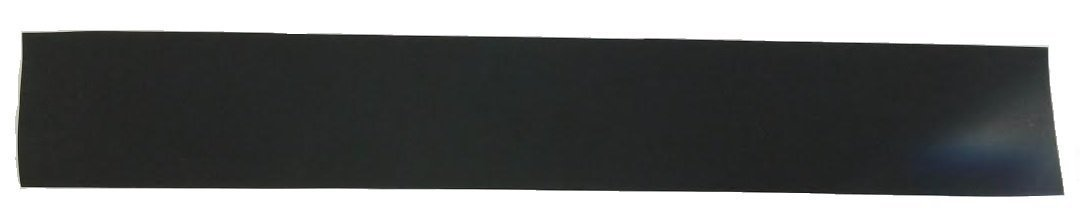 Black Fiber Veneer 6 x 40 Inches, 1mm Thick
