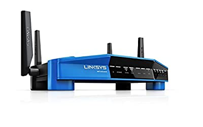 Linksys WRT AC3200 Open Source Dual-Band Gigabit Smart Wireless Router with MU-MIMO, Tri-Stream 160 (Certified Refurbished) (WRT3200ACM-RM2)