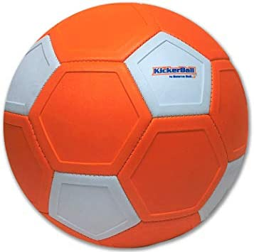 Perfect for Outdoor /& Indoor Match or Game Great Gift for Boys and Girls Curve and Swerve Soccer Ball//Football Toy Kickerball Bring The World Cup to Your Backyard Kick Like The Pros