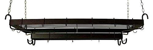 Grace FDR47-Grid Large French Display Rack, Satin Black by Grace