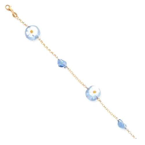 Venice Heart Bracelet Bangle (Gold) - 2