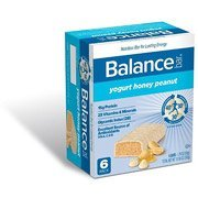 Balance Gold Yogurt Honey Peanut Nutrition Energy Bar, 6 (Protein Bar Honey Peanut Yogurt)