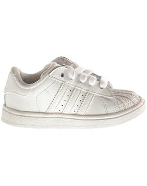 Superstar II 2 Infant Shoes Run White/Run White 901038!