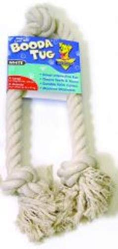 Aspen/Booda Corporation DBX50802 3-Knot Rope Tug Dog Chew Toy, X-Large (Toy Booda Dog)
