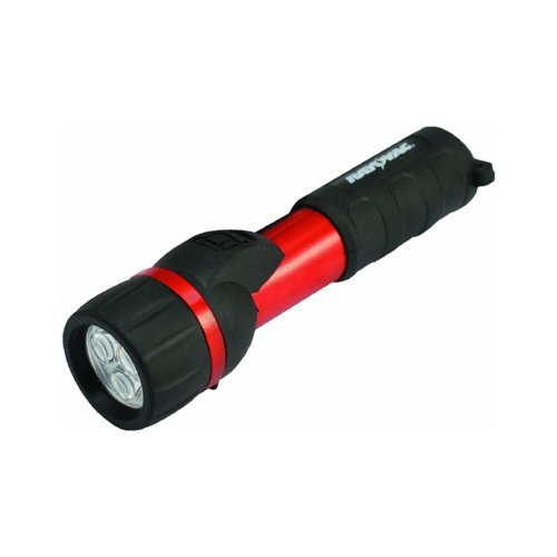 2aa Rubber Flashlight - Garrity 2AA Tuff Lite Rubber Flashlight (Black)