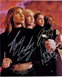 Signed All Saints 8x10 by Natalie and Nicole Appleton, Melanie Blatt and Shaznay Lewis autographed