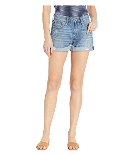 Lucky Brand Women's Low Rise Boyfriend Short in Rattan, 27 (US 4) (Rattan In)