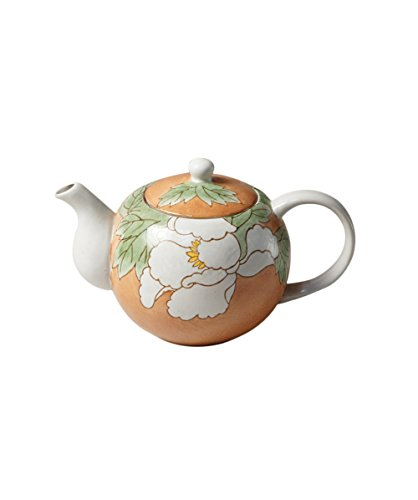 Cinf Japanese Classic Ceramic Colored Glaze Teapot,Tea Pot Ceramic for Tea/Coffee,Home and Office Use (650 ml,22.21 oz) by Cinf