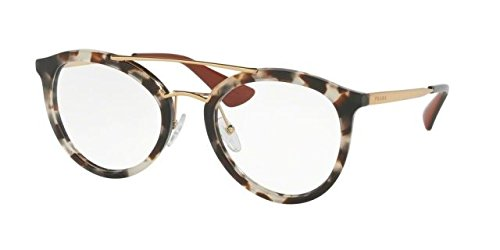 Prada Women's PR 15TV Eyeglasses White Havana - White Prada Glasses