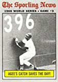 1970 Topps Regular (Baseball) card#307 W.S. Game 3 Agee of the - Undefined - Grade Good