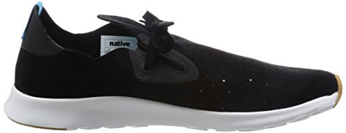 Apollo Unisex White Fashion Jiffy Shell Black Moc Native Sneaker 8wqdtxH85