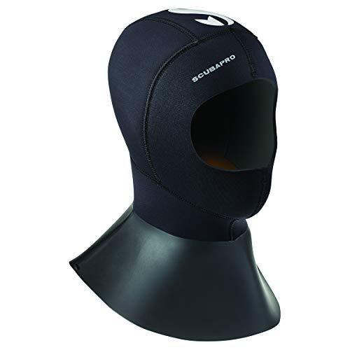 (ScubaPro Everflex 6/5mm Bibbed Hood (Large))