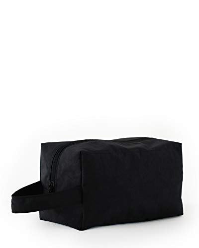 (BAGGU Dopp Kit Toiletry Bag, Great for Travel and Storage, Black)