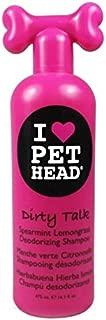 product image for Pet Head Dirty Talk Deodorizing Shampoo Spearmint Lemongrass 16oz (Set of 12)