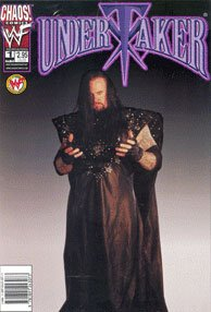 Undertaker Chaos Comics WWF #1 - Photo Cover