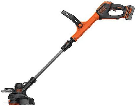 BLACK DECKER LSTE523 20V Max Lithium POWERCOMMAND Easy Feed String Trimmer Edger Renewed