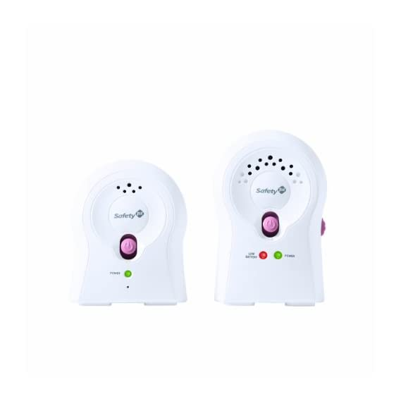 Safety 1st Crystal Clear Audio Monitor (White)