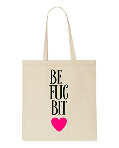 Bitches Statement One Matching Part Bag Best Friends Tote Bff Beige Shopper Fucking XWq5Sc7