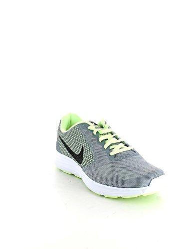 Nike WMNS NIKE REVOLUTION 3–Sneaker, Damen, Gelb (Stealth/black-barely Volt)