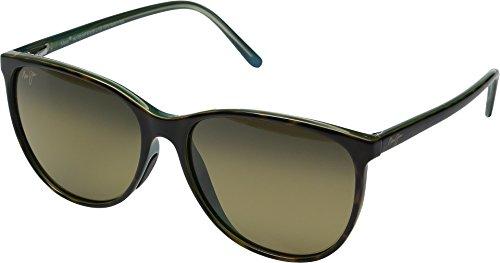 Maui Jim Womens Ocean Sunglasses (723) Brown/Bronze Plastic,Nylon - Polarized - - Ocean Sunglasses