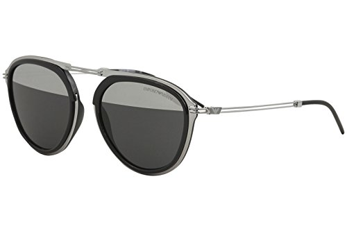 Emporio Armani sunglasses (EA-2056 30101Y) Gun - Black - Grey lenses