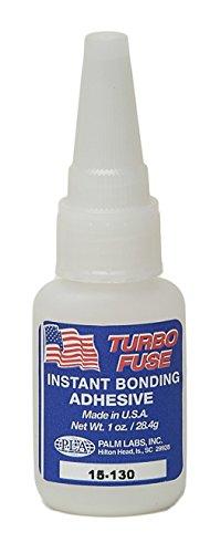 Turbo Fuse 15-130 (Loctite 404 Equivalent) Super Glue Cyanoacrylate Adhesive - 1 oz (28.4g) Bottle