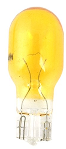 Moonrays 11694 4-Watt Wedge Base Replacement Light Bulb,4-Pack, Amber