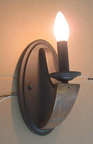 Kenroy Home 93830WD 1 Light Sconce, Bronze Finish with ()