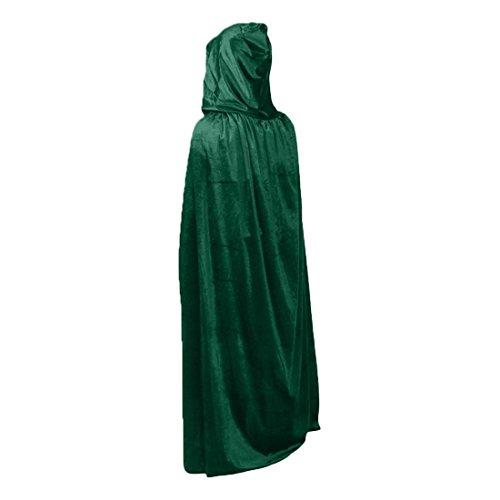 Mens Costume Cape Vampire Grim Reaper Monk Halloween