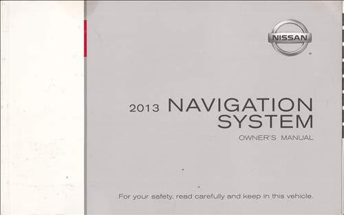 2013 Nissan LCN Navigation System Owners Manual Original