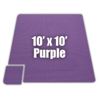 Premium SoftFloors Set in Purple Size: 20′ x 50′