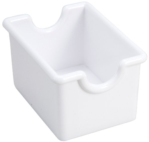 Winco 12-Piece White Sugar Packet (Sugar Caddy Packet Holder)