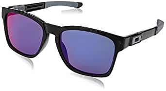 Oakley Men's Catalyst OO9272-08 Square Sunglasses, Black Ink, 55 mm