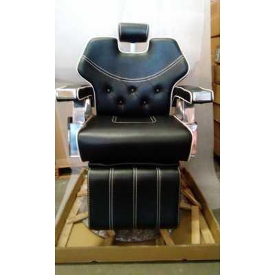 Silla sillón 6885 Peluquería Barbero Profesional reclinable ...