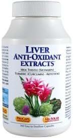 Andrew Lessman Liver Anti-Oxidant Extracts, 60 Capsules