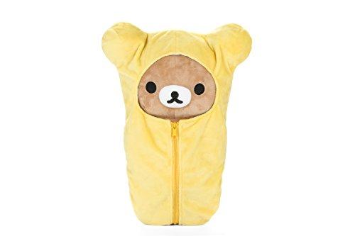 "Rilakkuma by San-X 15"" Sleeping Bag plush, doll, stuffed animal Authentic Licensed Product"
