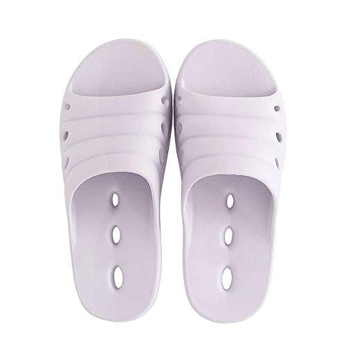 Outdoor Drying Sandals Indoor Bath Slippers Quick Light Purple Shoes Slide Non 1 Shower Slip wUSFTRx