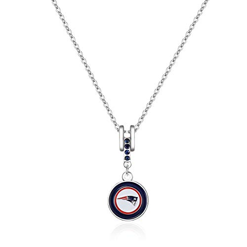 (Pro Specialties Group NFL New England Patriots Charm Necklace)