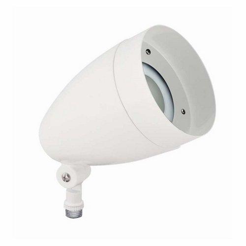 Warm 297 lm RAB Lighting HBLED10YW LFLOOD 3000 K 10W White Finish 1102873
