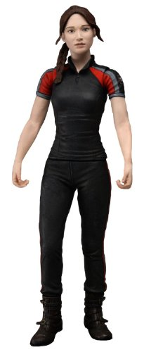 NECA The Hunger Games Movie Katniss in Training Day Outfit 7 inch Action -